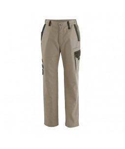 Pantalon OUT-SUM en coton/polyester et canvas