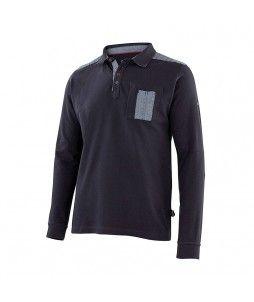 Polo DENIM 100% coton et avec manches longues