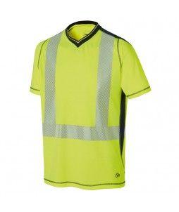 T-Shirt à manches courtes LUKLIGHT haute visibilité