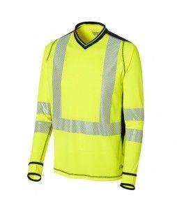T-Shirt à manches longues LUKLIGHT haute visibilité