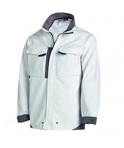 Veste de travail WHITE&PRO en coton et polyester - Molinel