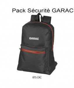 PACK SECURITE GARAC : BTS CRC