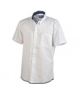 Chemise homme manches courtes, en coton (modèle EASY)
