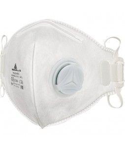 Demi-masques jetables FFP1 avec valve (boîte de 10)
