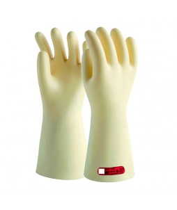 Gants d'électricien isolants en latex (Classe 0 - 1000V) - Lot de 1