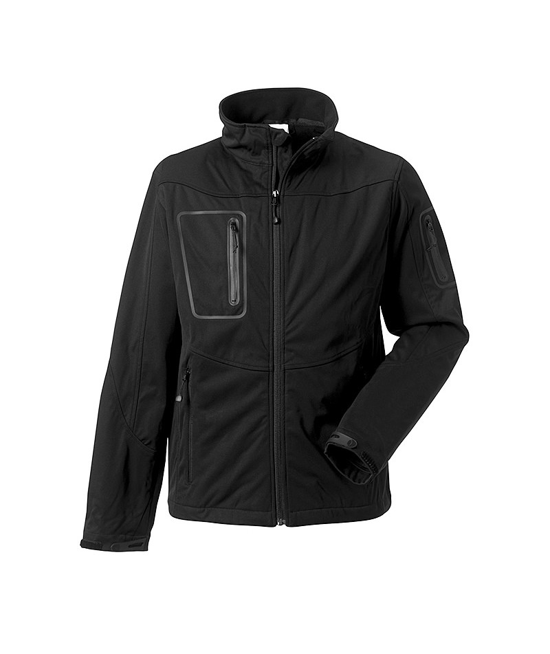 Veste ACTIVE softshell RUSSELL (340grs) - Pour homme
