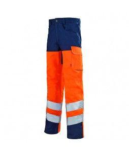 Pantalon de travail IRIS WORK VISION 2 haute visibilité - Lafont