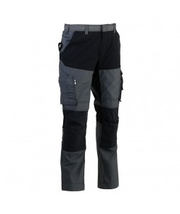 PANTALON HECTOR Stretch Multipoches Poly/Coton