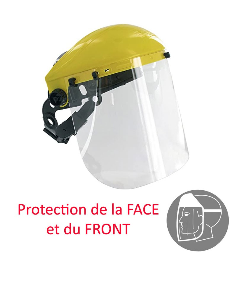 ECRAN RELEVABLE PROTECTION Face et Front