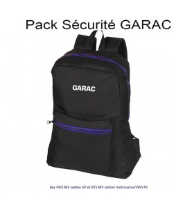 PACK SECURITE GARAC : BAC PRO MV OPTION VP ET BTS MV OPTION MOTOCYCLES/VP/VTR
