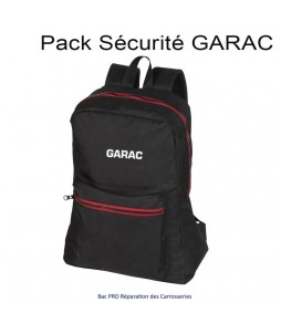 PACK SECURITE GARAC : BAC PRO Réparation des Carrosseries