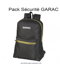 PACK SECURITE GARAC : BAC PRO MV Opt.Motocycles et VTR