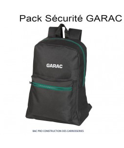 PACK SECURITE GARAC : BAC PRO Construction des Carrosseries