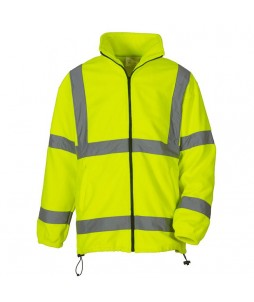 VESTE Polaire HV Full Zip 100% Poly 340g