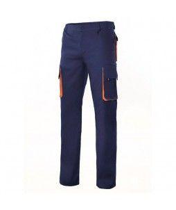 Pantalon de travail pas cher Multipoches Bicolore