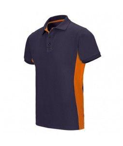 Polo professionnel Bicolore à manches courtes Coton/Poly 180g