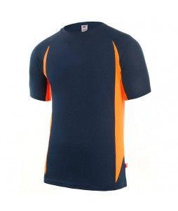 Tshirt Technique Bicolore 100% Poly 160g
